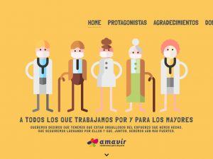 Amavir pone en valor el compromiso del sector frente a la pandemia de coronavirus en su campaña 'Es tiempo de unión'