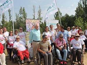 'El Camino lo hacemos todos', incluso en silla de ruedas