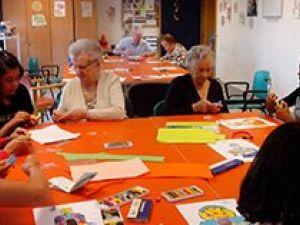 Campamentos intergeneracionales en las residencias Amma de Navarra