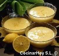 Crema de limón rápida