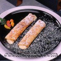 Frisuelos con crema de arroz