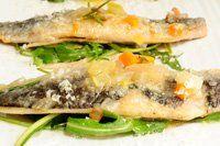 Vídeo receta: sardinas en escabeche con ensalada de apionabo y rúcula
