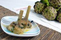 Alcachofas con ajo y perejil