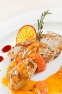 Pollo a a la naranja