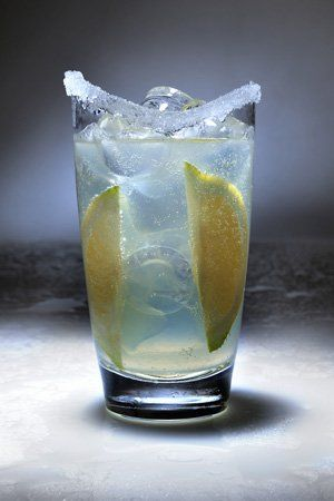 Receta de coctel gin fizz