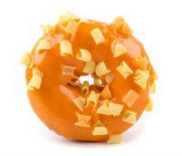 Donut casero de naranja