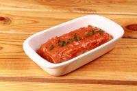 Lasaña de atún con tomate
