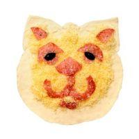 Pizza 'Gato de salami'
