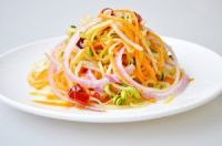 Ensalada de soja y zanahoria