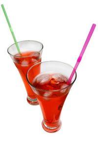 Cóctel tricolor sin alcohol