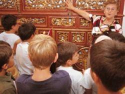 Voluntario en museos y catedrales