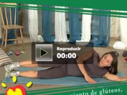 Hacer ejercicios de glúteos, abdominales y piernas