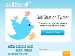 Compra y vende artículos en Twitter con Selltter