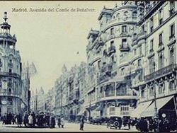 Postales antiguas de calles, monumentos, iglesias...