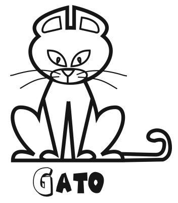 Colorear un gato