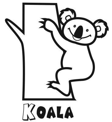 Colorear al koala