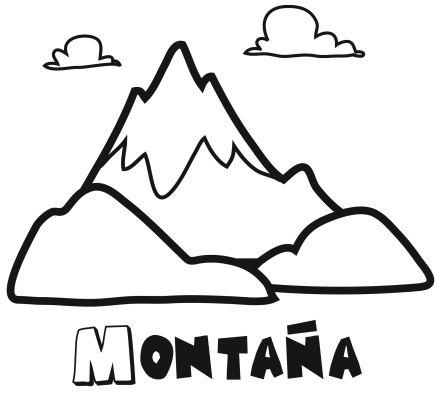 Colorear la montaña