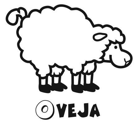 Colorear una oveja