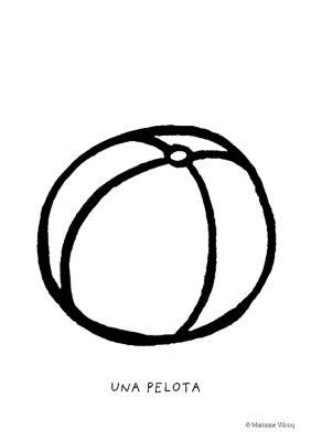 Colorear la pelota