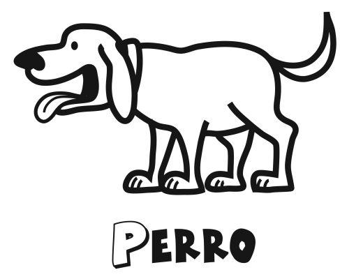Colorear a un perro