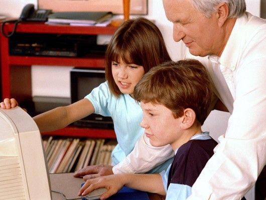 El abuelo y la informática