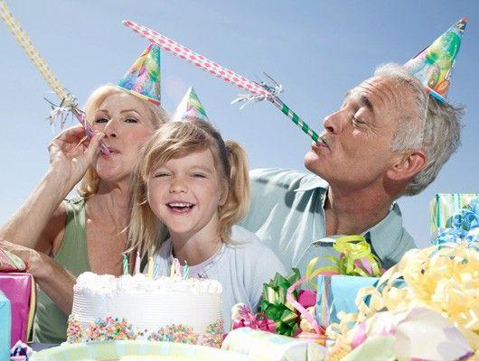 Abuelos de cumpleaños