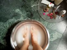 Remedio casero para los pies hinchados