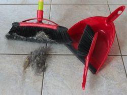 El truco para la limpiar la escoba