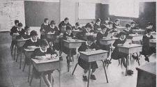 Un colegio de los años 60