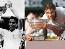 Manolo Santana, el Rey del tenis español en los 60