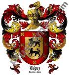 Escudo del apellido López (Castilla y León)
