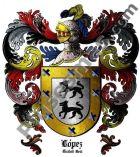 Escudo del apellido López (Ciudad Real)