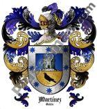 Escudo del apellido Martínez (Galicia)