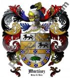 Escudo del apellido Martínez (Reino de León)