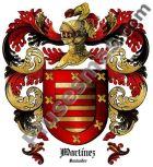 Escudo del apellido Martínez (Santander)