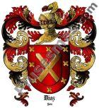 Escudo del apellido Díaz (Jaén)