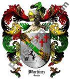 Escudo del apellido Martínez (Castilla)