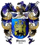 Escudo del apellido Martínez (Asturias)