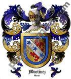 Escudo del apellido Martínez (Teruel)