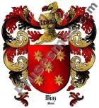 Escudo del apellido Díaz (Alava)