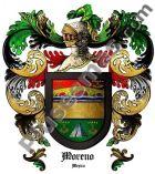 Escudo del apellido Moreno (México)