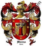 Escudo del apellido Moreno (Castilla)