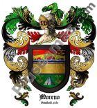 Escudo del apellido Moreno (Valladolid)