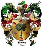 Escudo del apellido Moreno (Zaragoza)