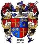 Escudo del apellido Muñoz (Castilla y León)