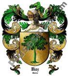 Escudo del apellido Díaz (Galicia)