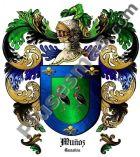 Escudo del apellido Muñoz (Cantabria)