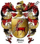 Escudo del apellido Muñoz (Tarancon)