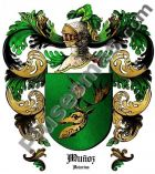 Escudo del apellido Muñoz (Asturias)