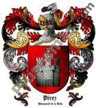 Escudo del apellido Pérez (Almonacid de la Cuba)